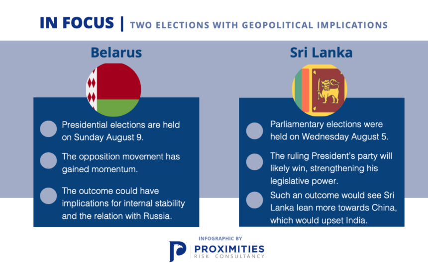 Two Elections with Geopolitical Implications